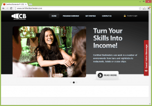 Certified Bartender - the first online Bartender Training Program