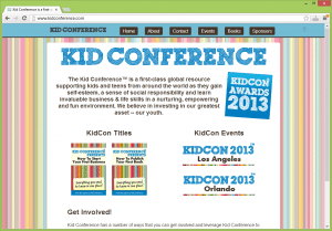 The Kid Conference™ is a first-class global resource supporting kids and teens from around the world