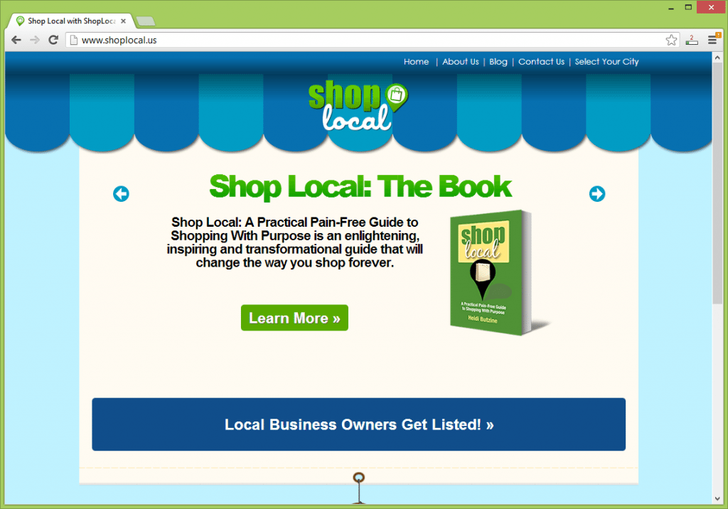 ShopLocal.us is part of a grassroots effort to inspire more people to buy from local businesses in neighborhoods across America--making a difference in our communities.
