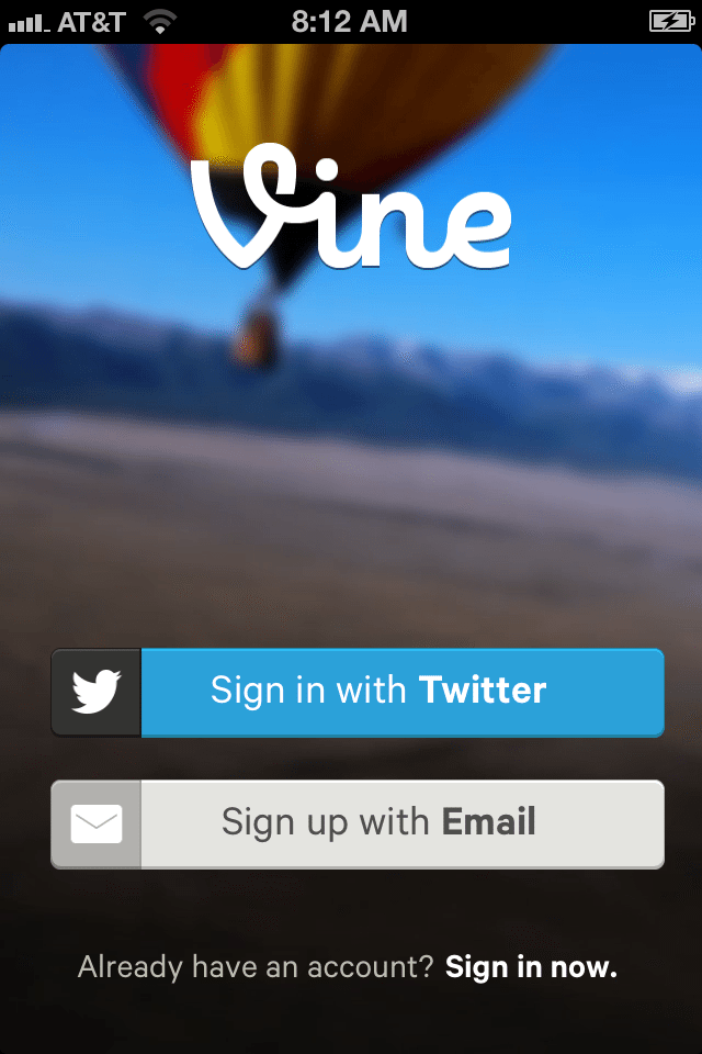 Getting Started with the Vine App